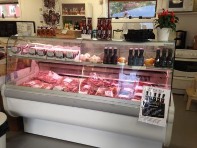 Locally produced meat