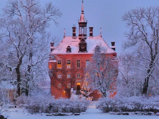 Wiks slott – som taget ur en saga