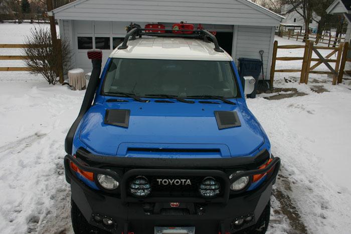 Hood Louvers Page 2 Toyota FJ Cruiser Forum