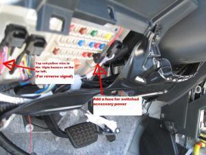back up light relay location?  Toyota FJ Cruiser Forum