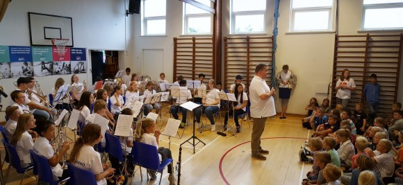 Konsert på Nørholm skole