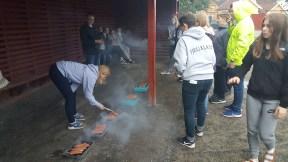Grilling av pølser