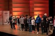 Utdeling av priser til juniorkorpsene