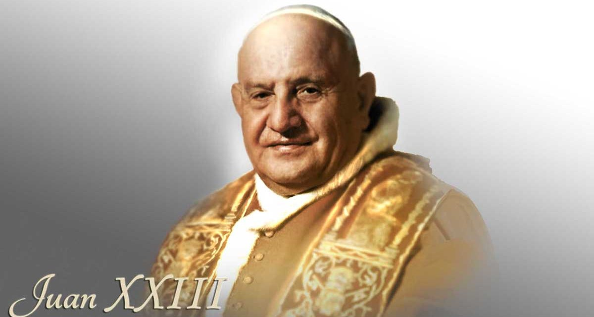 El papa de la paz