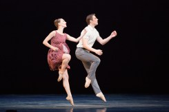 "Sarah Van Patten and Luke Ingham in Trey McIntyre's ""Presentce."" Photograph by Karolina Kuras"