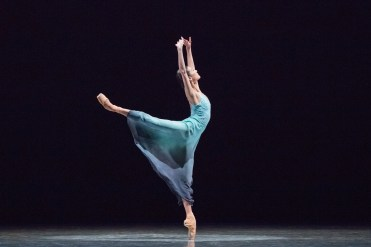 "Yuan Yuan Tan in Stanton Welch's ""La Cathedrale Engloutie."" Photograph by Karolina Kuras"