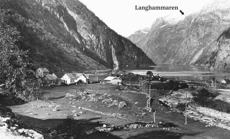Tafjord in 1926.