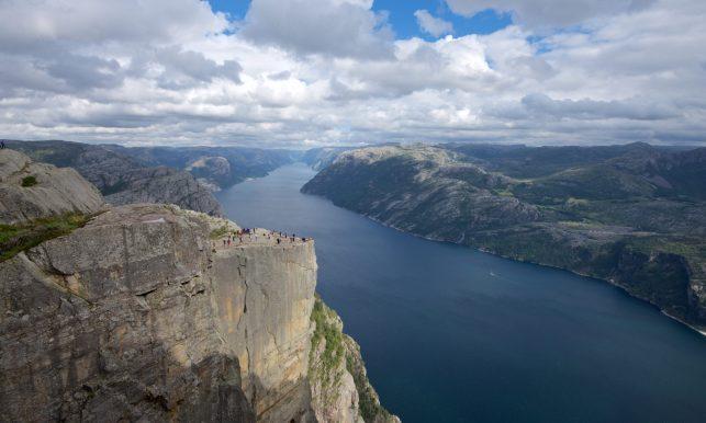 Lysefjord in Norway