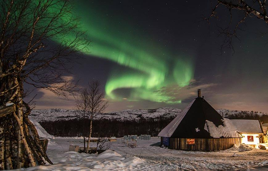 Northern Lights Breaks Norway