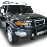 Toyota FJ Cruiser Grille Guard Black Powder Coated Finish