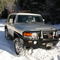 Angel Eye Fog Lamps fog Toyota FJ Cruiser ARB Bumper