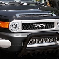 MATTE BLK BULL BAR BRUSH PUSH BUMPER GRILL GRILLE GUARD 07-14 TOYOTA FJ CRUISER