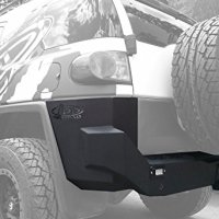 Addictive Desert Designs R8017013401NA Stealth Fighter Rear Bumper for Toyota FJ Cruiser