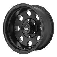"American Racing Custom Wheels AR172 Baja Satin Black Wheel (17x8""/6x139.7mm, 0mm offset)"
