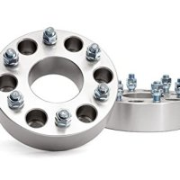 "Wheel Spacers 1"" Fit Toyota FJ Cruiser Aluminum Set Adapters 6x5.5 6 Lug Bolt"