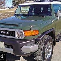 iBoard Running Boards (Nerf Bars | Side Steps | Step Bars) For 2007-2014 Toyota FJ Cruiser Sport Utility 4-Door | (Black Powder Coated 4 inches)