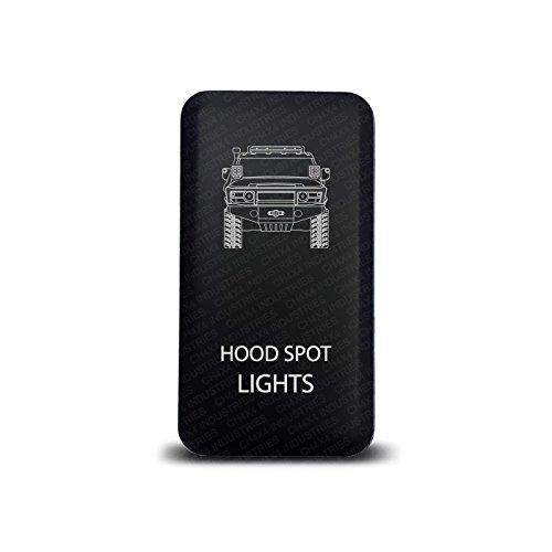 Ch4x4 Push Switch For Toyota Fj Cruiser  U2013 Hood Spot Lights