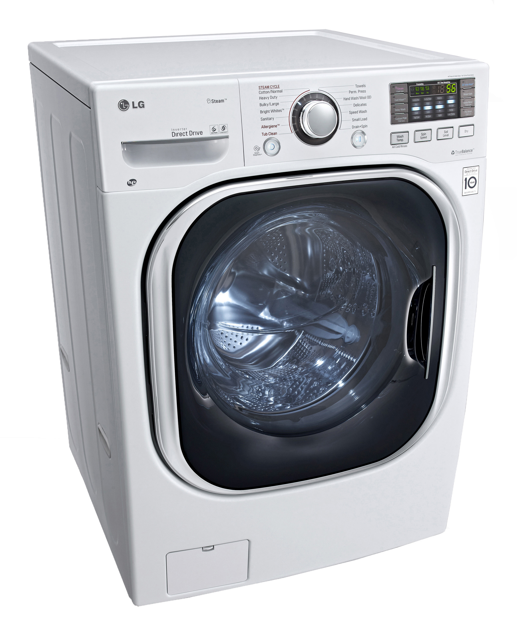 LG WM3997HWA 27 Full Size Ventless Washer Dryer Combo FJS
