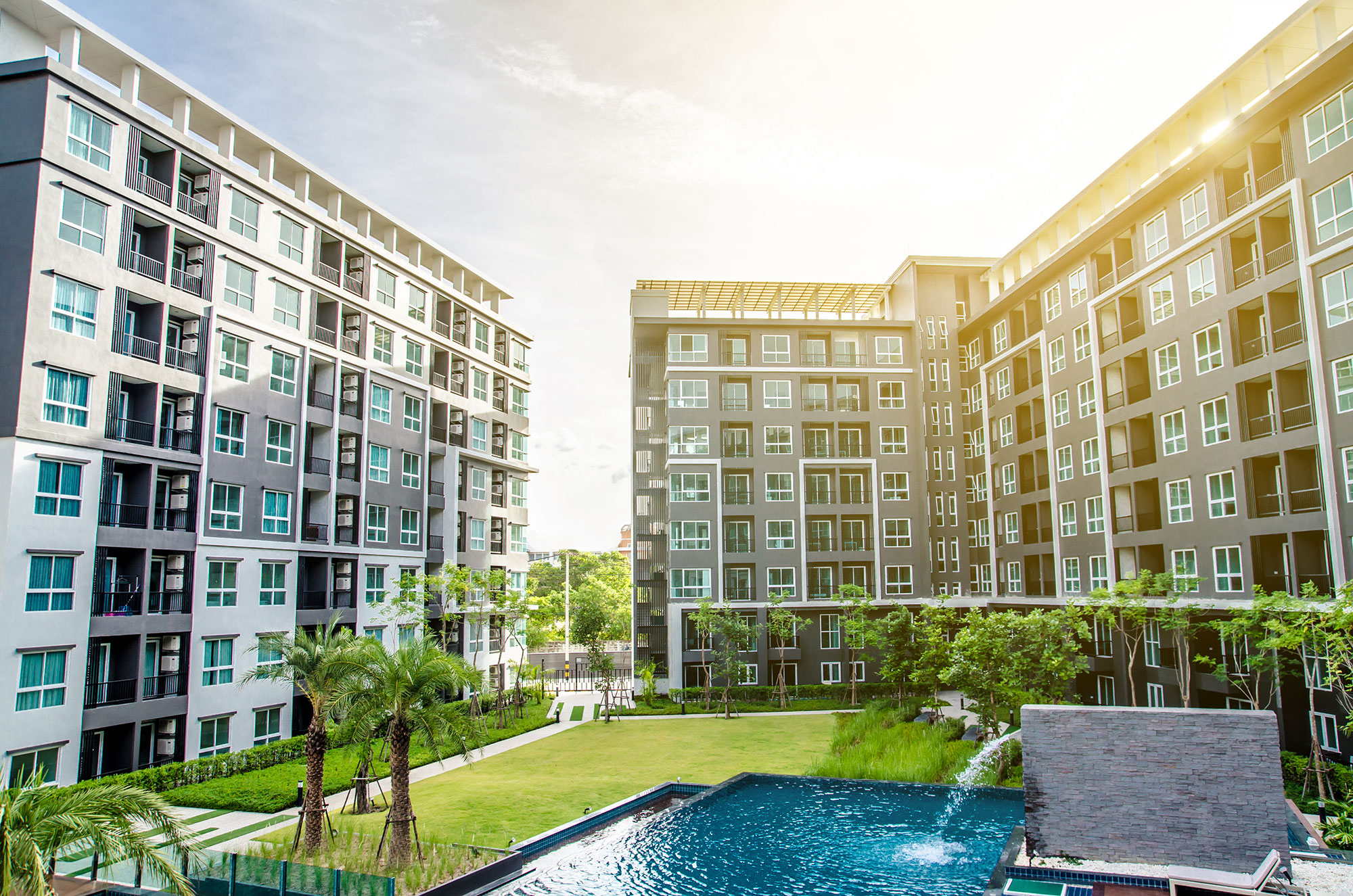 multi family housing complex