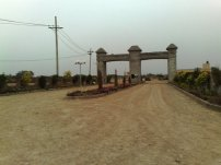 Nayab City Stadium road side main gate