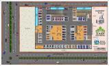 Al Wasay Towers Karachi (Basement Plan)