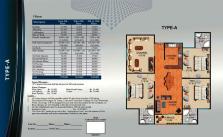Al Wasay Towers Karachi (Layout Plan Flat Type-A & Payment Plan)