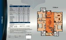 Al Wasay Towers Karachi (Layout Plan Flat Type-A1 & Payment Plan)