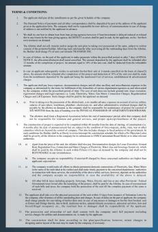 Al Wasay Towers Karachi (Terms & Conditions 1)