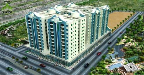Al wasay Tower Karachi - attractive view