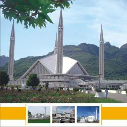 Islamabad Faisal Mosque - attractive architecture