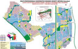 Multi Gardens Housing Scheme Sector B-17 Islamabad (Layout Plan)