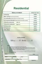 Saima Green Valley Karachi (Payment Schedule residential plots 120 yards)