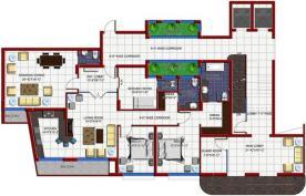 High Rise Flats Hayatabad Peshawar - Architectural Plan Type B 2
