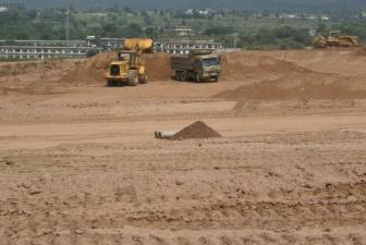 Bahria Enclave Islamabad development work -10