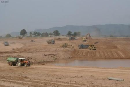 Bahria Enclave Islamabad development work -9