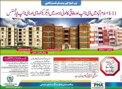 PHA Apartments in Lahore & Islamabad I-11 Sector