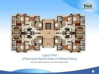 PHA Executive Apartments Lahore - Layout Plan