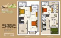 Cantt-Villas-Multan-Floor-Plan-3.5-Marlas-3-Bedrooms