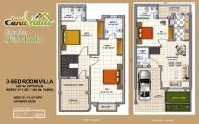 Cantt-Villas-Multan-Floor-Plan-3.5-Marlas-3-Bedrooms