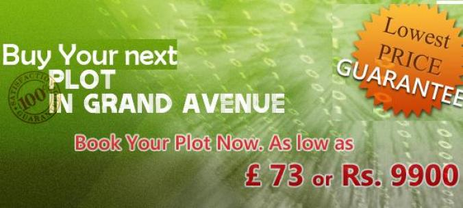 Grand Avenue housing - plot price