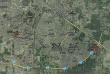Satellite View Jatima Jinnah Town Multan