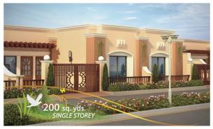 Chapal Uptown Elevation - 200 Sq yds Single Storey
