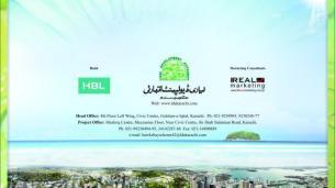 Hawksbay Scheme 42 Karachi Brochure Back