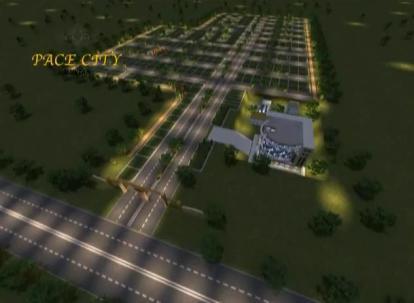 Pace City Multan - Master or Layout Plan
