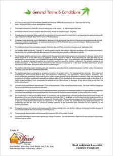 Pearl Garden Lahore Application Form 2