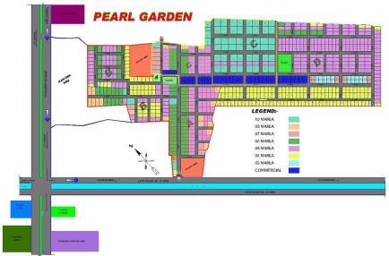 Pearl Garden Lahore - Master Plan