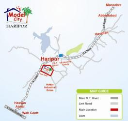 Model City Haripur Location Plan
