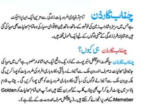 Chenab Garden Sialkot - Introduction