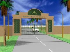 Rasheed Avenue Multan - conceptual view main Gate