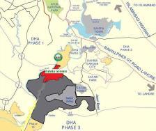 Bahria Greens Housing Scheme - Location Plan